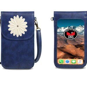 Dignity Blue Daisy Purse