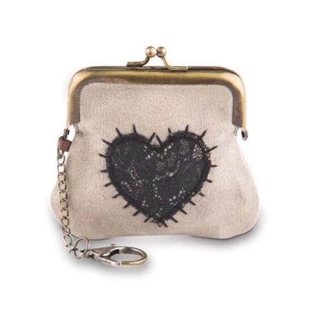 Heart Coin Clip